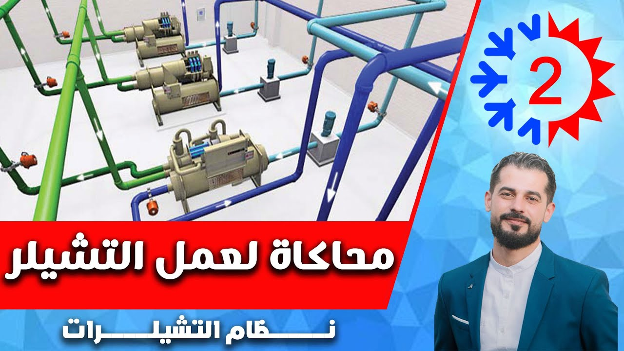 نظام التشيلرات 1 نظرة عامة م فادي ياســـــــين Youtube