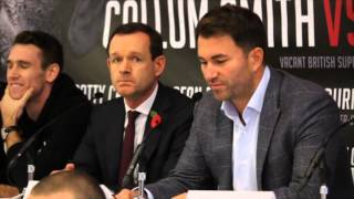CALLUM SMITH v ROCKY FIELDING - FULL (COMPLETE) FINAL PRESS CONFERENCE / WHO