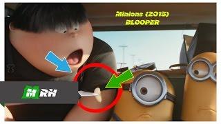 Keanehan Dalam Film / Kesalahan Dalam Film MINIONS (2015) (BLOOPER) #31