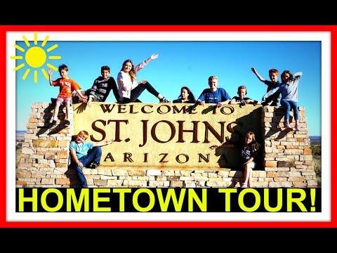 HOMETOWN TOUR! | ST. JOHNS ARIZONA | BIKE TOUR!