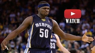 Zach randolph dunk compilation