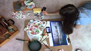 New York Trilogy - Jordan Cook's New Paintings