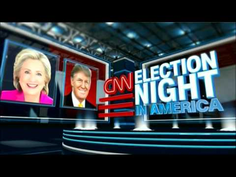 CNN Election Night in America 2016 - OPENING with Wolf Blitzer and Anderson Cooper