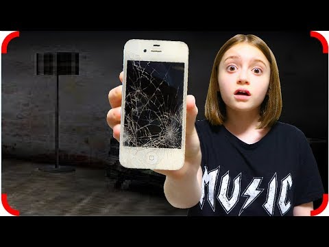 Прятки с бабулей! Кто разбил мой телефон?