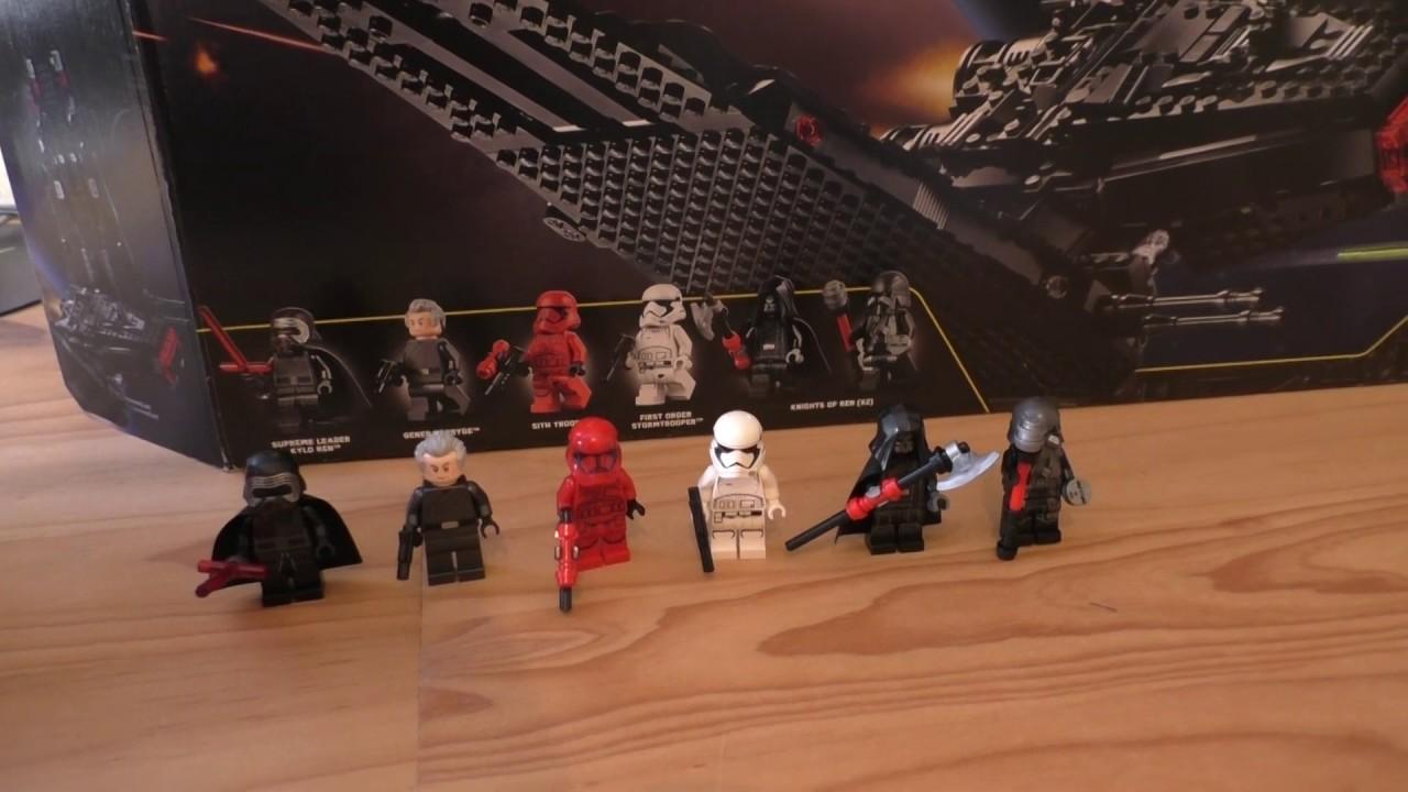 Lego Star Wars 75256 Kylo Ren Figurine de Kylo REN/'s Shuttle
