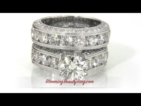 6 different types of engagement ring styles video - Types Of Wedding Rings