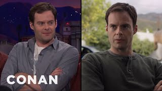 """Bill Hader On Juggling Directing & Acting In """"Barry""""  - CONAN on TBS"""