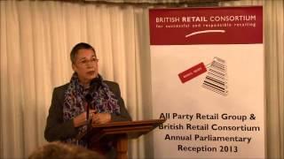 BRC Parliamentary Reception 2013 - Ann Coffey MP