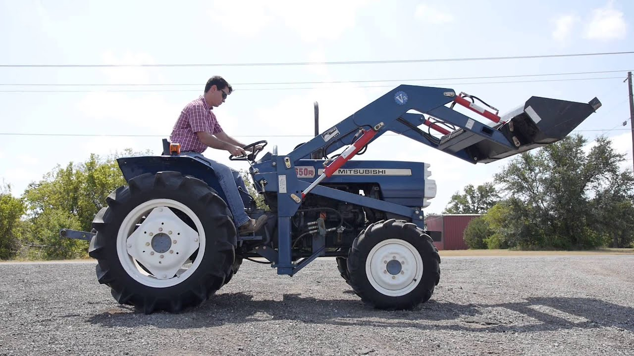 Demo of our pre-owned Mitsubishi D2650FD
