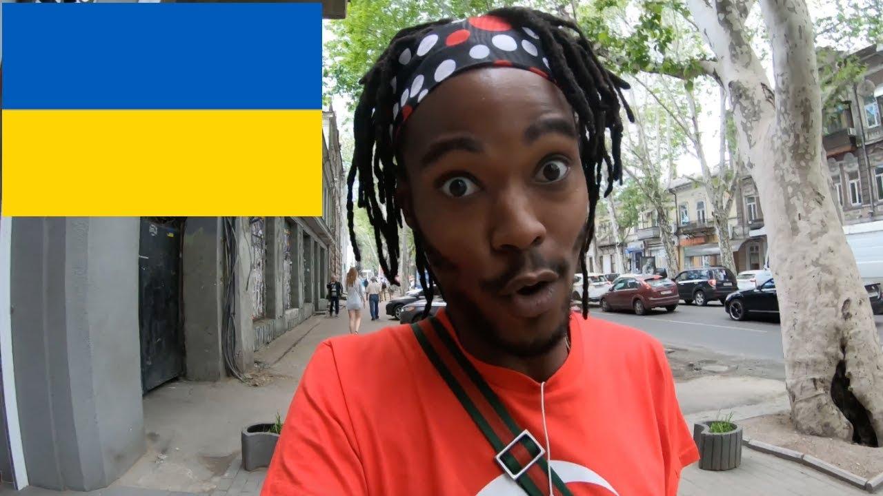 Misplaced American in Odessa Ukraine. (VLOG #1254)
