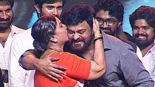Annapurnamma Shows Her Love Towards Mega Star Chiranjeevi @ Geetha Govindam Success Meet