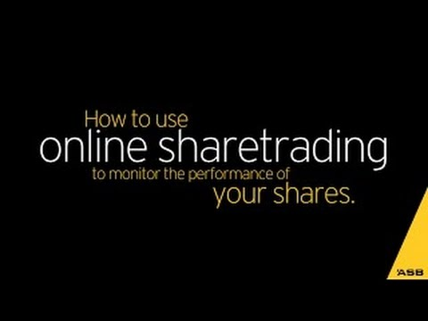 Online share trading - Buy & sell shares online | ASB