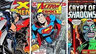 Marvel vs DC Comic Book Covers - EPIC Old Marvel Comics (Part 1)