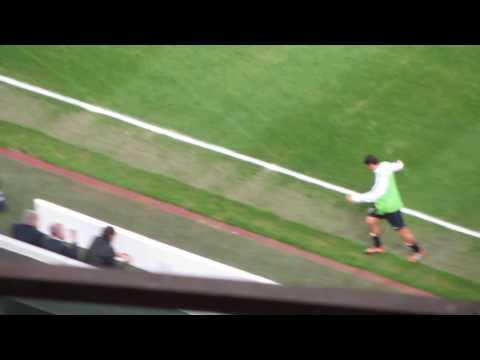 Coro Javier Zanetti addio Inter