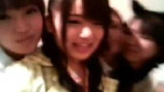 June 19th, 2008 Nacchan and others are backstage in various costume...