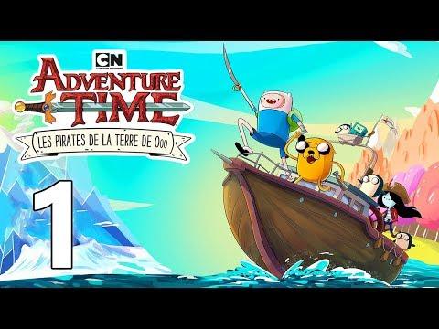 ADVENTURE TIME  Les Pirates de la Terre de Ooo #1