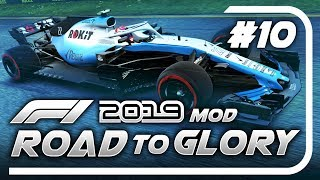 F1 Road to Glory 2019 - Part 10: WILLIAMS CIVIL WAR! WTF WAS THIS RACE!