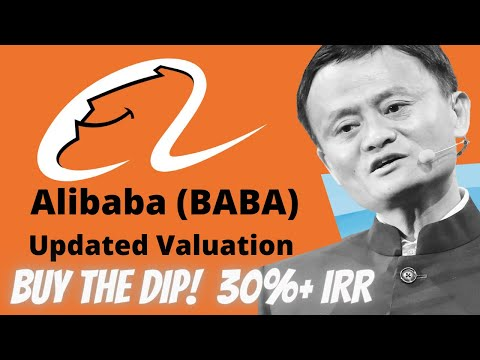 Alibaba Stock Update : Why You Should Buy The Dip! Updated Valuation & IRR