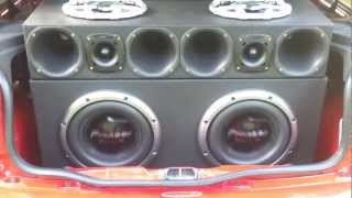 2 Pioneer 3002 tocando Bass I Love You