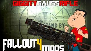 Video Fallout 4 Console Mods ~ Giggity Gauss Rifle (Sound Replacer) download MP3, 3GP, MP4, WEBM, AVI, FLV Juni 2018