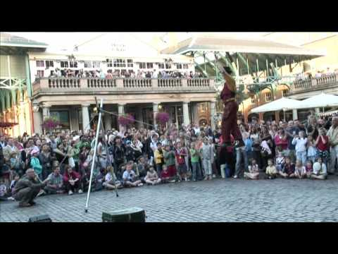 Covent Garden street performers - Promo Video UK