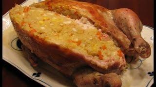 видео Салат из цыпленка с рисом