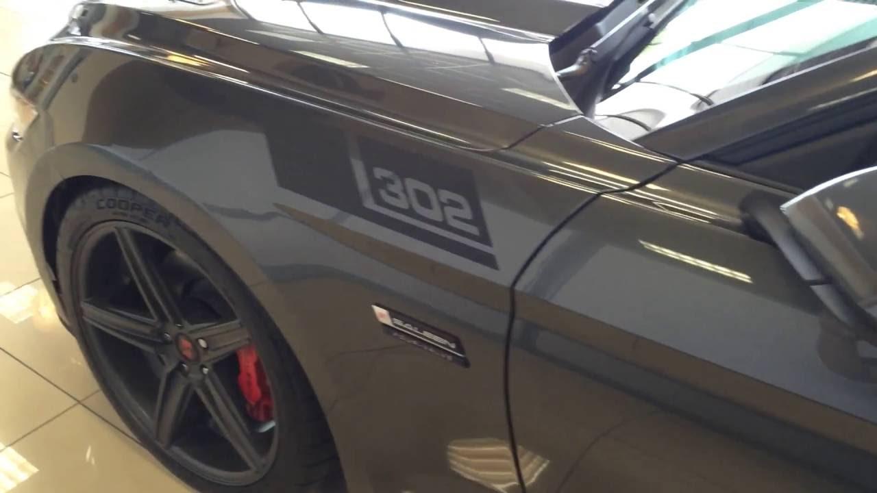 2017 SALEEN S302 MUSTANG