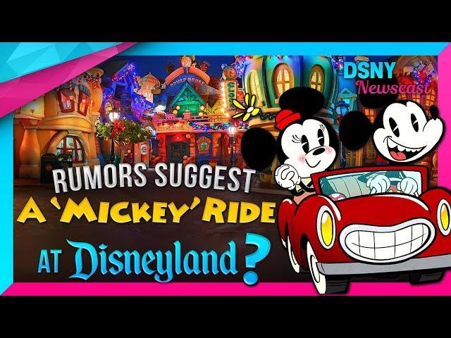 "Rumors Suggest ""Mickey's Runaway Railway"" Might Come To Disneyland - Disney News - 11/16/17"