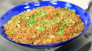 ارز صيني بالجمبري   أميرة شنب