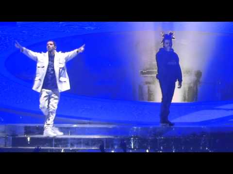 Drake - Headlines + Crew Love Feat the Weeknd (Live)