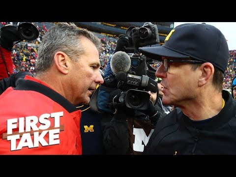 Michigan poised to take down Ohio State this season - Finebaum | First Take