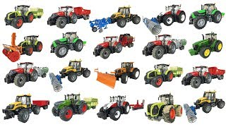Tractor videos for children | Bruder toys | Tractors for kids