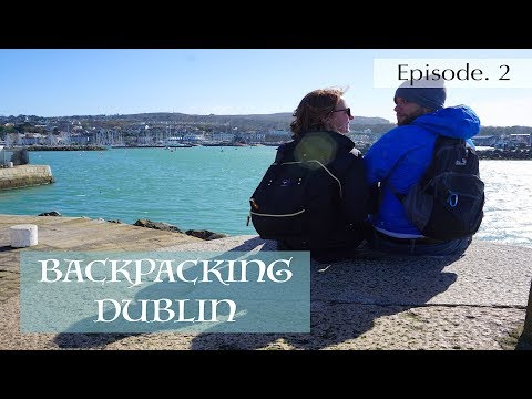 TOURING DUBLIN // Hiking Howth // Learning to drive manual - Ireland Road Trip Series