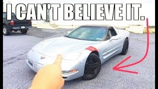 How Much I REALLY Paid For The CHEAPEST C5 Corvette in the Country... **Less Than You Think**