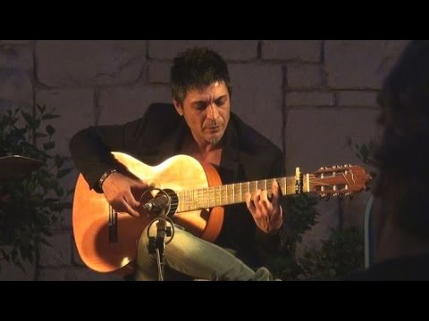 Antonio Muñoz Fernández, Flamenco Guitarist at Parador de Jávea, Spain