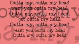 Ashlee Simpson Outta My Head (Ay ya ya) (With lyrics)