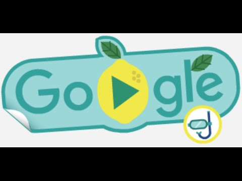 2016 Rio Olympics Google Doodle Lemon Swimming Fruit Game