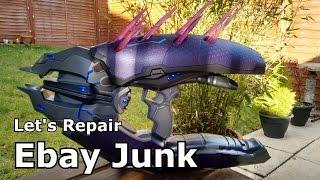 Let's Repair - Ebay Junk - Halo Needler Prop Replica - Pointy Problems
