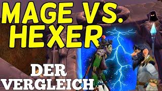 Magier oder Hexenmeister? Klassenvergleich in WoW Classic | Leveln | Raids | Klassenwahl