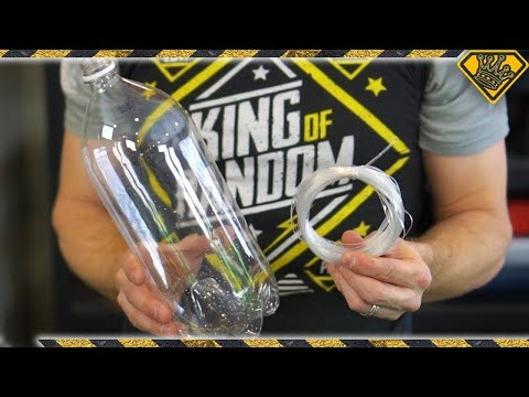 Make Soda Bottle String (Cool Survival Hack)