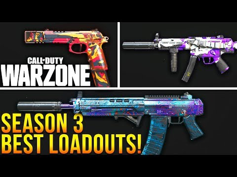 Call Of Duty Warzone Top 10 Best Loadouts For Season 3 Warzone Best Classes Youtube