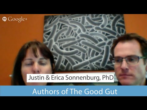 Gut Bacteria on a Paleo Diet w/ Drs Justin & Erica Sonnenburg