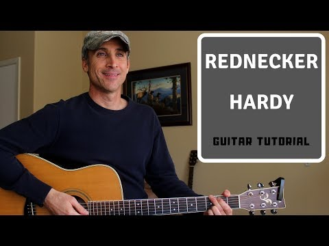 Rednecker - Hardy - Guitar Lesson | Tutorial
