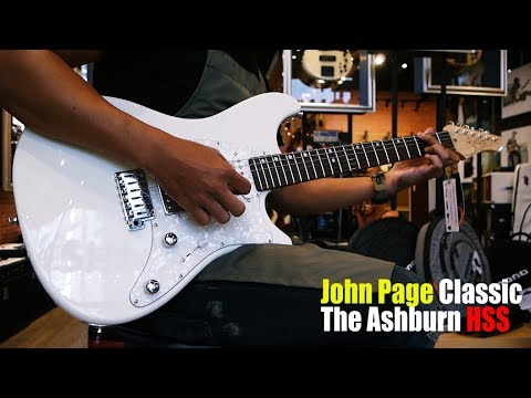 Strings Quick Demo : John Page The Ashburn HSS Rosewood Fingerboard demo