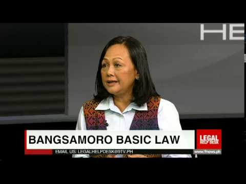 Legal Help Desk Episode 115: Bangsamoro Basic Law