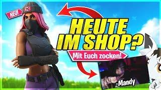 🔴Fortnite NEUER SHOP STREAM(Mit Facecam)!❌FORTNITE CUSTOM GAMES!❌Fortnite Live Deutsch