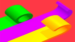 Color Roll 3D - All Levels Gameplay Android, iOS screenshot 4