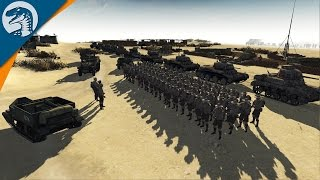 CONSTRUCTING HUGE DEFENSE LINE IN AFRICA | RobZ Realism | Men of War: Assault Squad 2 Gameplay