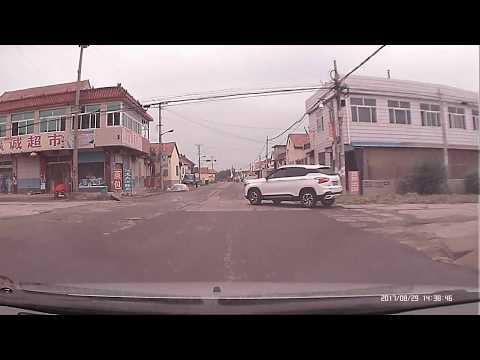 Driving in China: Beautiful Country Side Drive in Shandong Laiwu