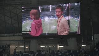 Дети называют игроков сборной России по футболу на матче Россия Турция
